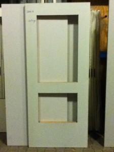 SAN12 set deuren, 201,5 x 75 stomp, uitsparingen 45 x 43 cm en 85 x 43 cm prijs 30 euro